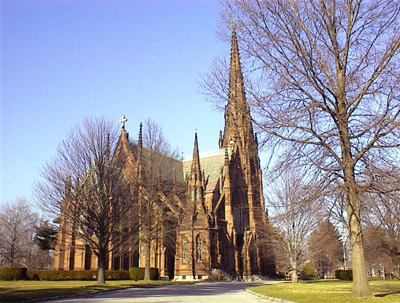 The Mystery Worshipper Cathedral Of The Incarnation Garden City Ny Usa